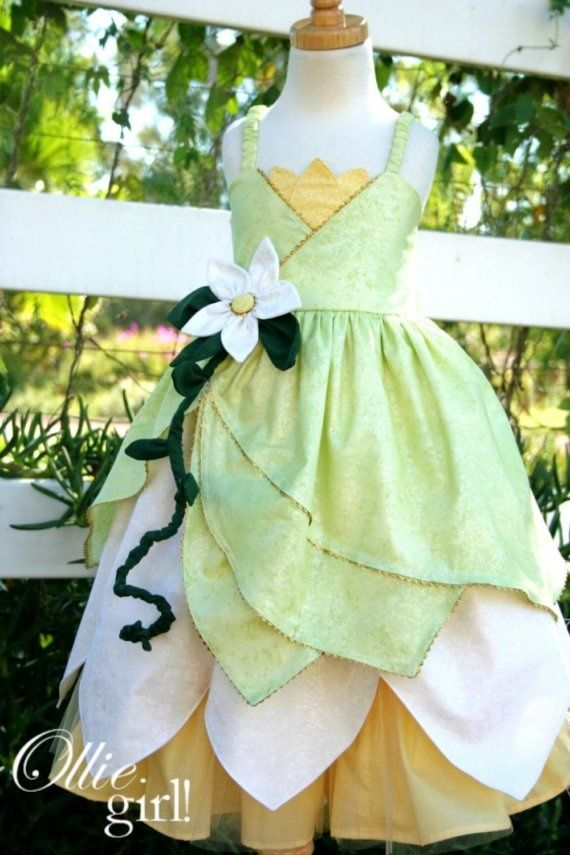 princess tiana dress pattern | princess tiana dress bottom petals