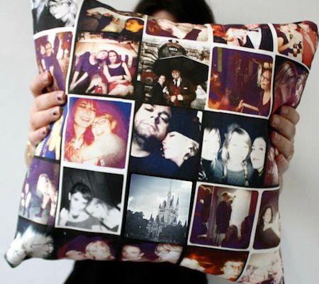 instagram photo pillow