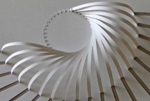 Paper engineer: Yoshinobu Miyamoto creates beautiful and intriguing shapes out of paper. We can't wait to see his architectural projects!