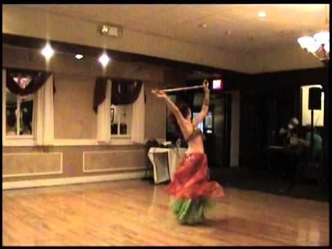 belly dance cane how to twirl cane