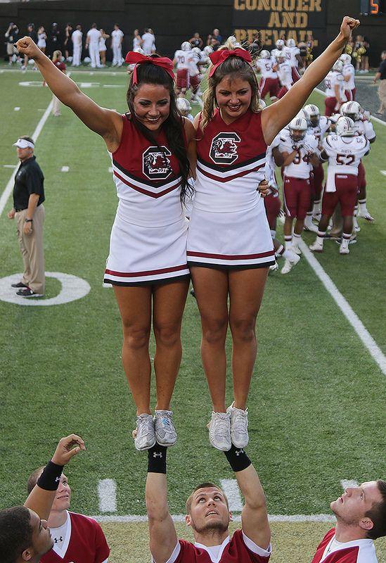 University Of South Carolina Cheerleaders