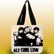 All Time Low Tote Bags