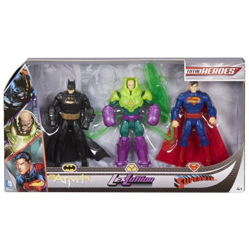 Batman Total Heroes 3 Figure Pack