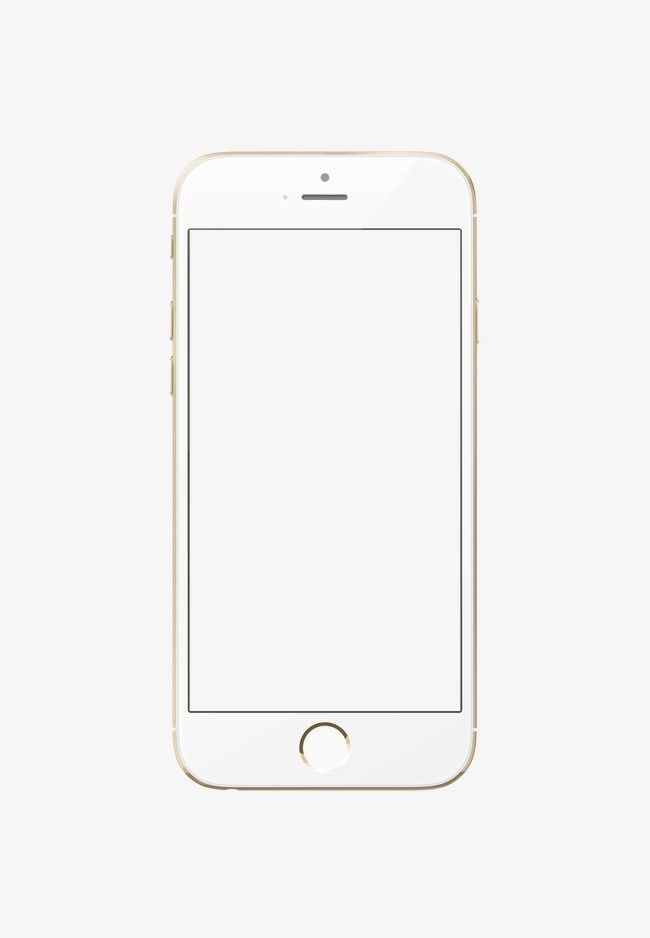 Png Iphone 6 Iphone Phone Template Free Iphone 6 Plus
