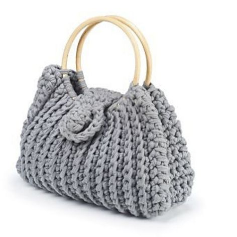 free tutorial from Boodles Yarns for #crochet handbag via @craftgossip