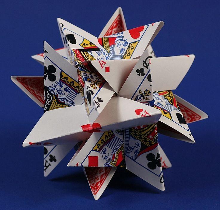 12-Card Star --- George Hart