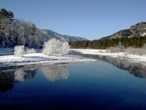 Телецкое озеро. Алтай. Россия