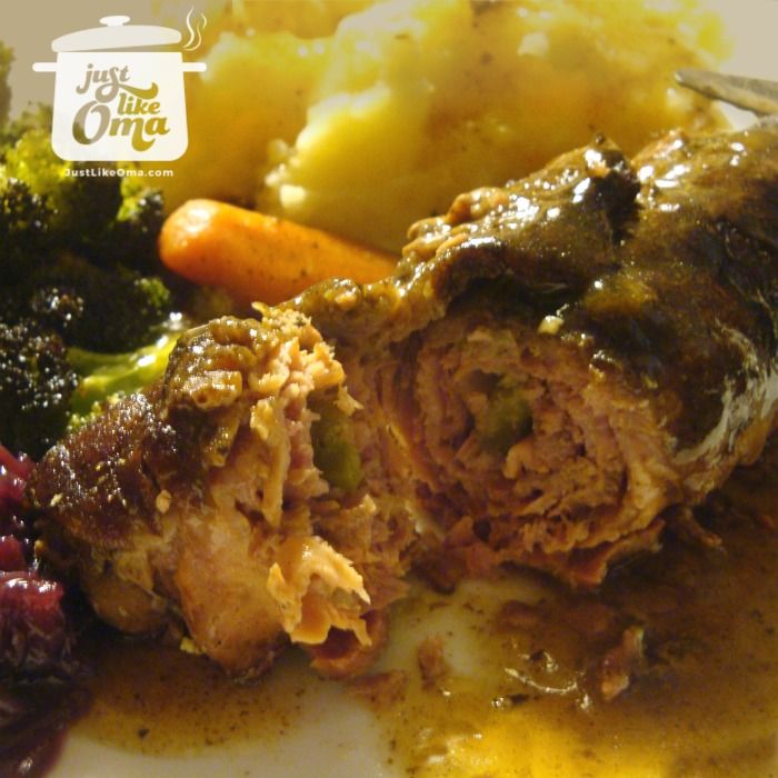 Wunderbar! Beef Rouladen. Check out  http://www.quick-german-recipes.com/beef-rouladen-recipe.html  Like it! Share it!   Pin it! Make it! Enjoy it!