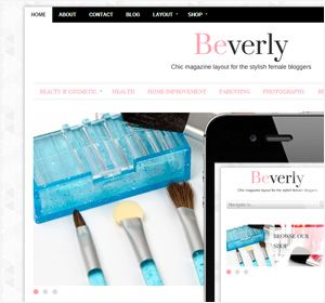 This would be brilliant for a beauty blogger - huge images are a great thing!