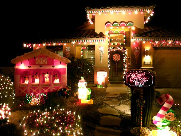 Our Favorite Christmas Light Displays From Rate My Space : Home Improvement : DIY Network