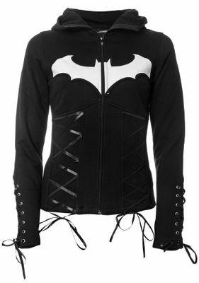 batman clothing for women | this night hoodie is an officially licensed black zip hoodie