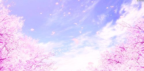 gif cute anime japan sky peaceful fall clouds amazing scenery ...