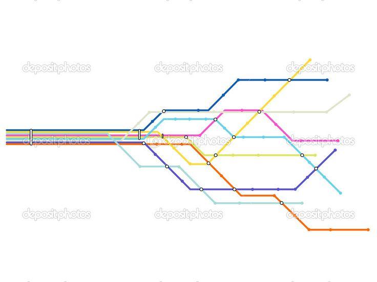 Fazer o mapa de sp com as linhas do metro (no video como se tivesse se movendo)