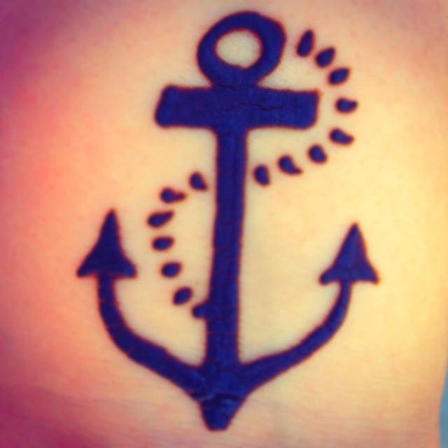 Anchor Henna Tattoo: 23 Best Henna Tattoos Images On Pinterest