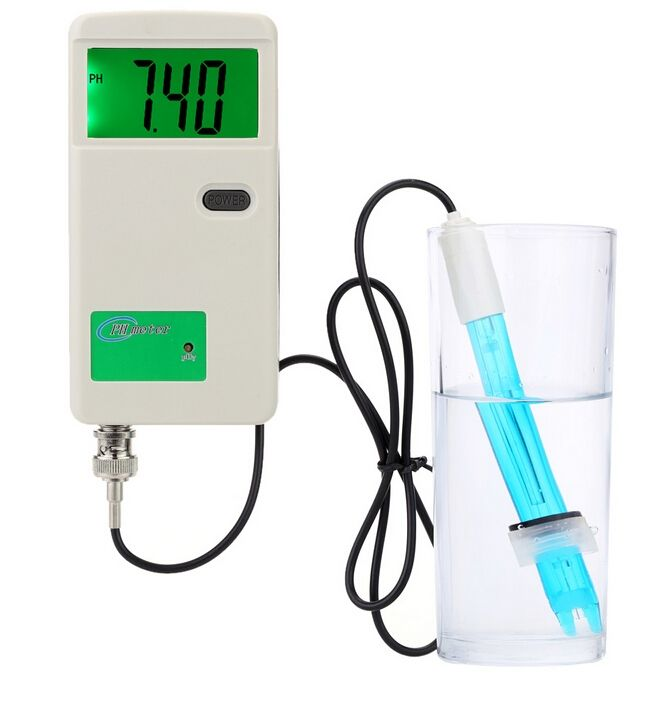 59.84$  Know more  - Professional pH Meter with LCD Backlit Display Acidimeter Measure Household Drinking Water Quality Analysis Device medidor de ph