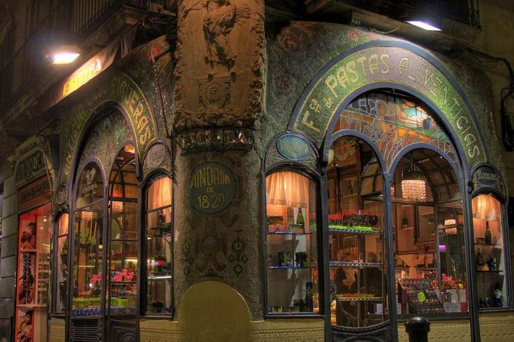 Escriba chocolate shop in Barcelona...where chocolate is transformed into Art.