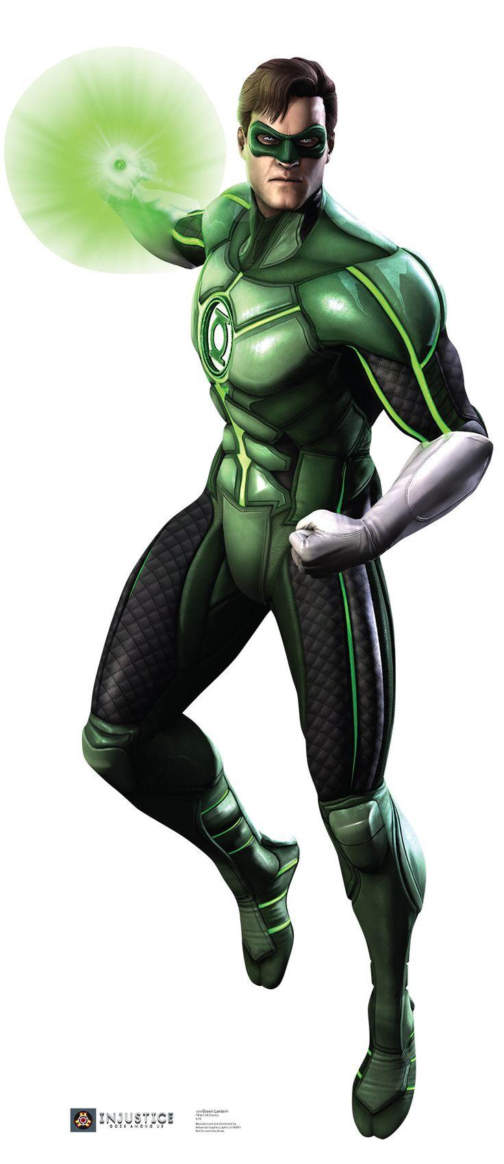 Green Lantern - Injustice DC Comics Game Cardboard Standup