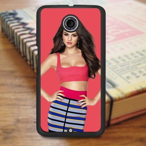 Gorgeous Hot Pink Selena Gomez Nexus 6 Case
