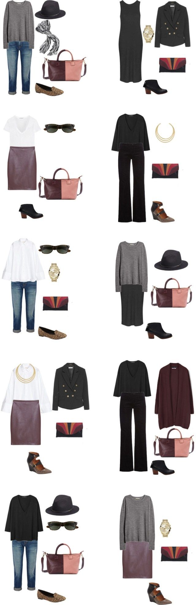 What to Wear for a Business Trip Outfits 11-20 #travel #traveltips #packinglight #travellight