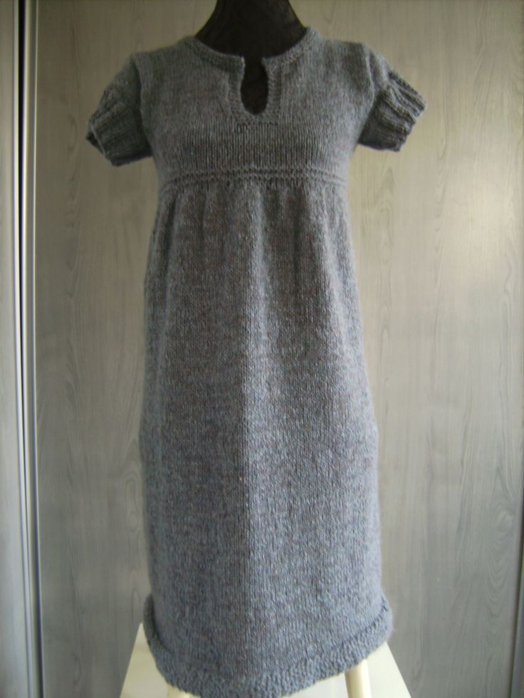 Strikket kjole/tunika