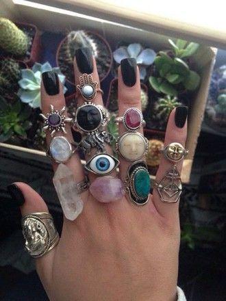 jewels boho ring jewelry ring jewerly jewerly necklace women jewerly grunge jewelry grunge