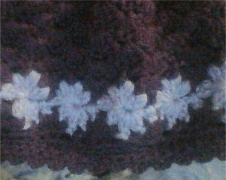 Ravenclaw Scarf Crochet Pattern