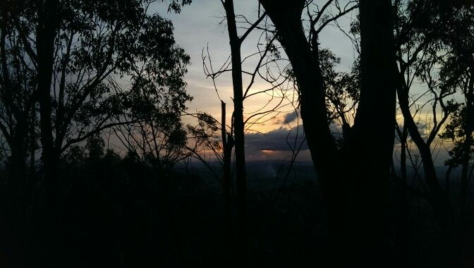 Sunset at Lamington National Park - Queensland, Australia