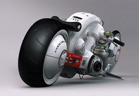 One mean machine - i hope this is the future of the motorcycle.