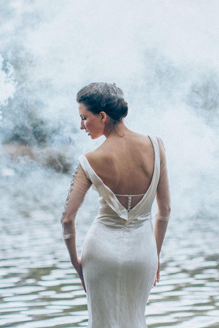 43 best Backless Wedding Dresses images on Pinterest | Wedding ...