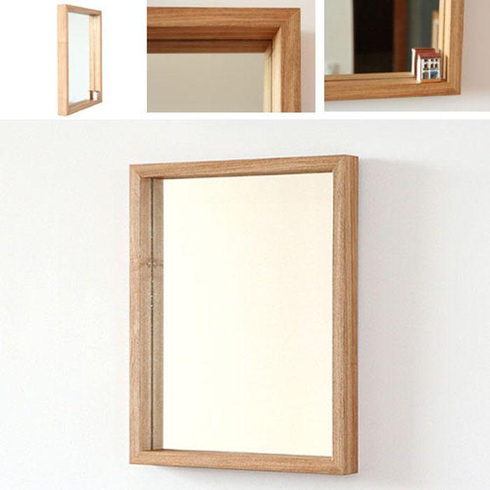 木枠の鏡タモ材