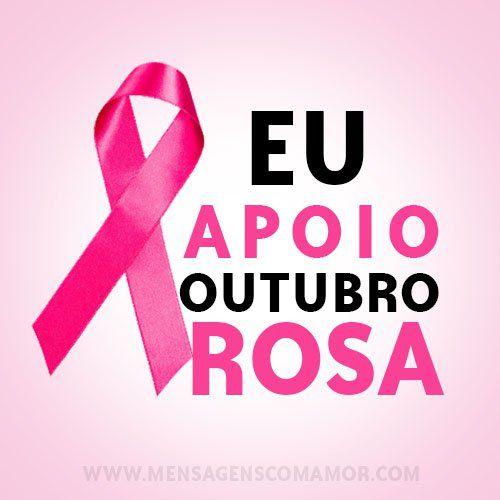 Apoie nas redes sociais esta campanha de conscientização do câncer de mama!