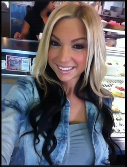 black and blonde, wish I could pull this off. There's no way.
