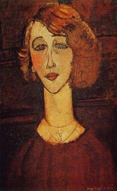 Amadeo Modigliani, Lolotte, 1916