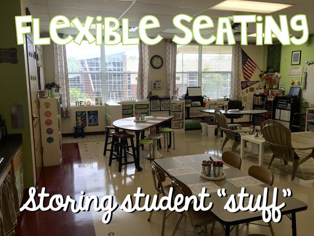 "Flexible Seating - Managing Student ""Stuff""!"