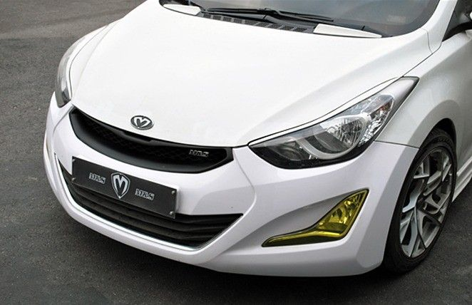 New Radiator Grille Front Hood Grill Painted For Hyundai Elantra Avante MD 2011~2013