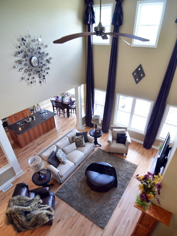 high ceiling - super tall curtains? | For the Home ...