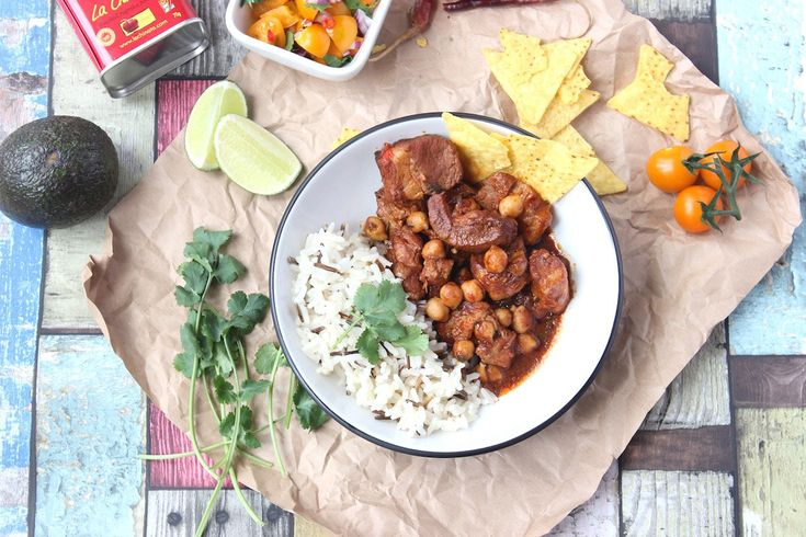 Amazing Chilli con Carne recipe. made with pork belly, stout and chickpeas.
