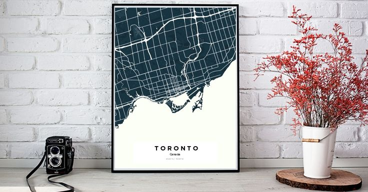 Toronto | Custom Map Maker – Make Your Own Map Poster Online - YourOwnMaps