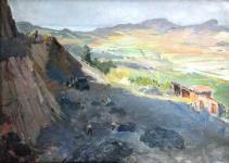 Mende Gusztáv: Badacsonyi kőbánya, Zánka