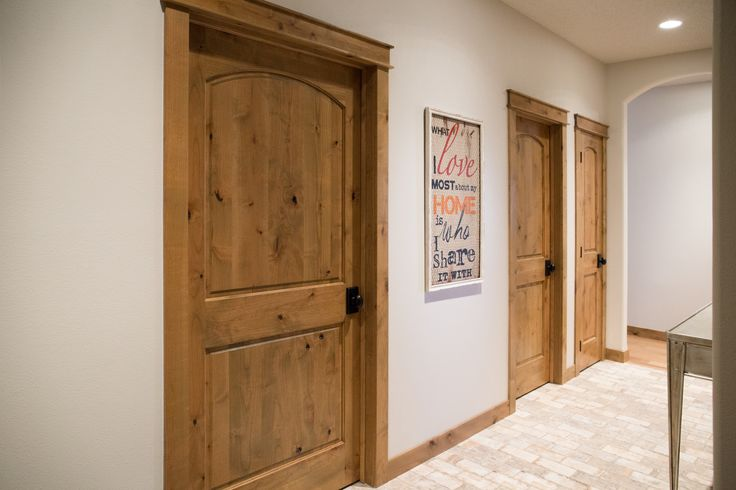 Interior doors knotty alder two panel doors with an - Interior door levers oil rubbed bronze ...