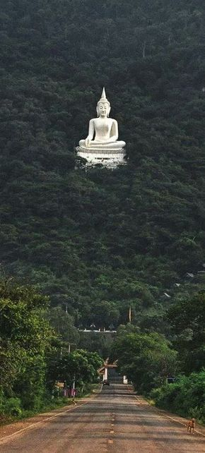 Buddha Statue in Forest Pak Chong, Nakhon Ratchasima - Korat, Thailand. Looks surreal - House of Bohemian