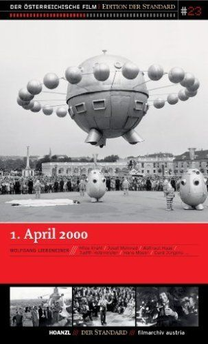 1. April 2000. Directed by Wolfgang Liebeneiner.  With Hilde Krahl, Josef Meinrad, Waltraut Haas, Judith Holzmeister. It is the year 2000 and the World Global Union is in charge, although other countries are allowed to elect their own government leaders, as long as they support the Union. When Austria's newly-elected president, played by Josef Meinrad, makes his inauguration speech he declares Austria independence and issues an edict ending Austria's financial support for the Global Union...
