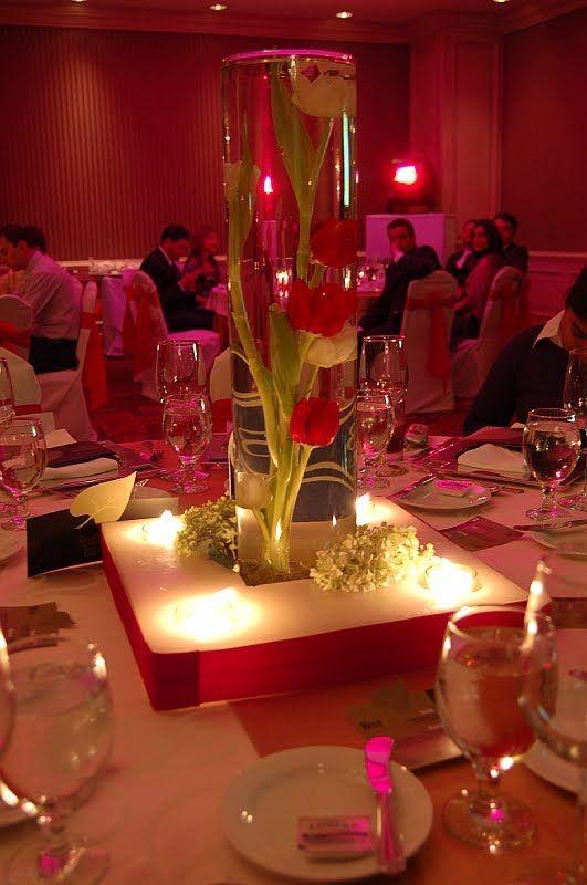 Ideas para decorar fiesta de boda ideas para organizar - Centros para decorar mesas ...