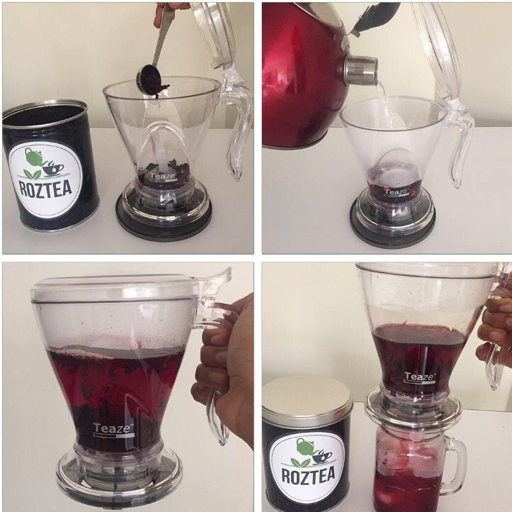Una forma práctica de preparar el té TEA ZE