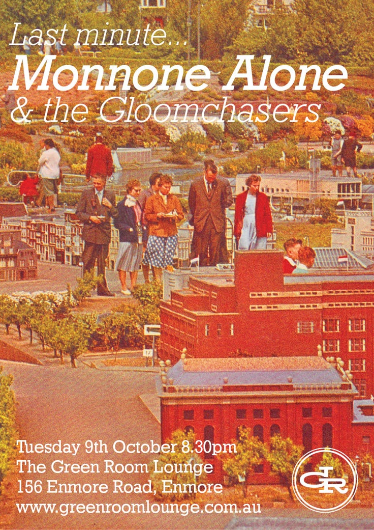Poster for Monnone Alone nd the Gloomchasers.