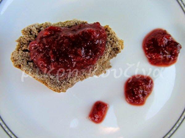 μικρή κουζίνα: Μαρμελάδα δαμάσκηνο χωρίς ζάχαρη, με γλυκαντικό