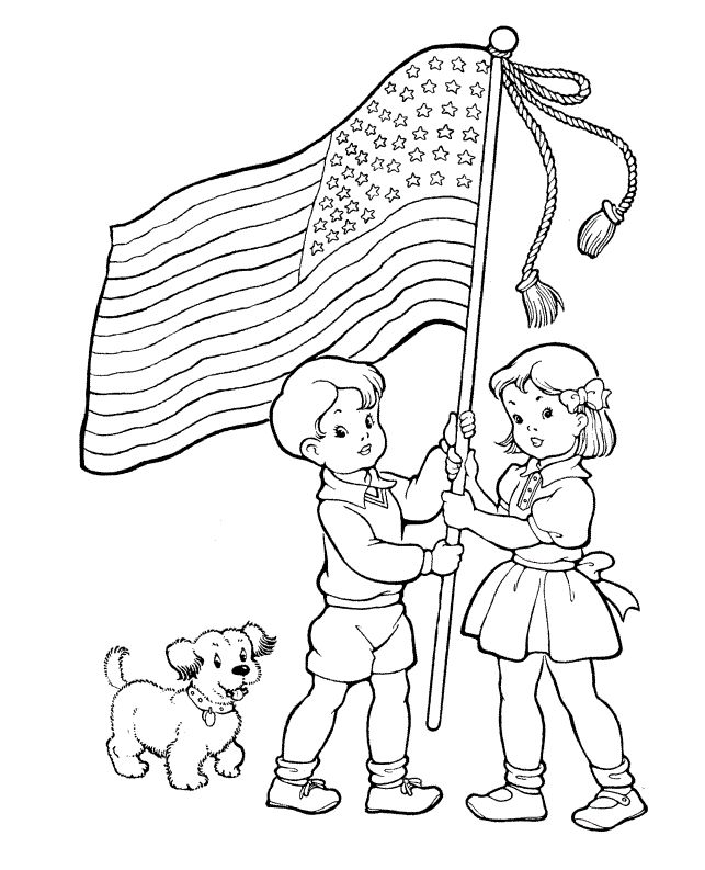 60 best 4th of juily images on pinterest | coloring, coloring ... - American Flag Heart Coloring Pages
