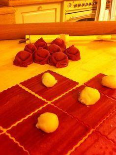 tortelli rossi