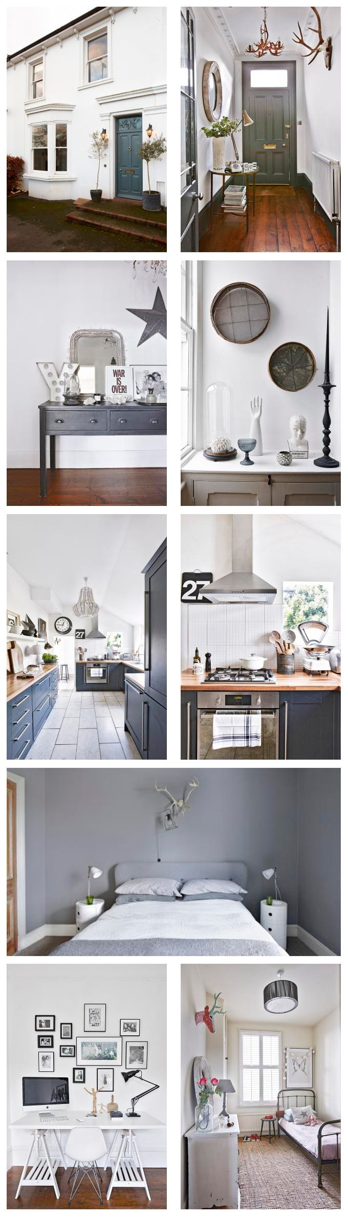 This elegant semi-detached period house in Sussex has been given a new lease of life with a modern update in monochrome. Want to see the rest of this gorgeous house? Take the tour!