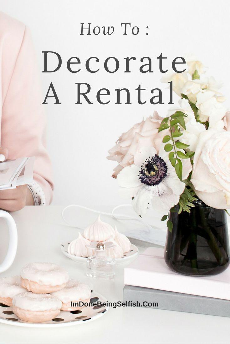 Decorating a rental,decorating, decorating living room, decorating bedroom, decorating new rental, decorating home, hot to decorate, holiday decorating, Fall decorating, how to decorate,